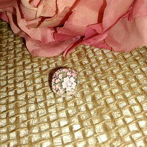 "Pandora's Pink ""Daisy"" Charm"